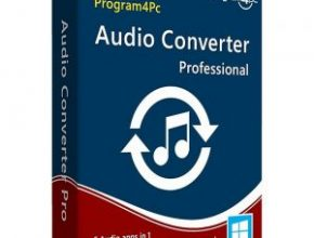 Program4Pc Audio Converter Pro Crack is a versatile audio converter and audio extractor with an easy-to-use interface and powerful features