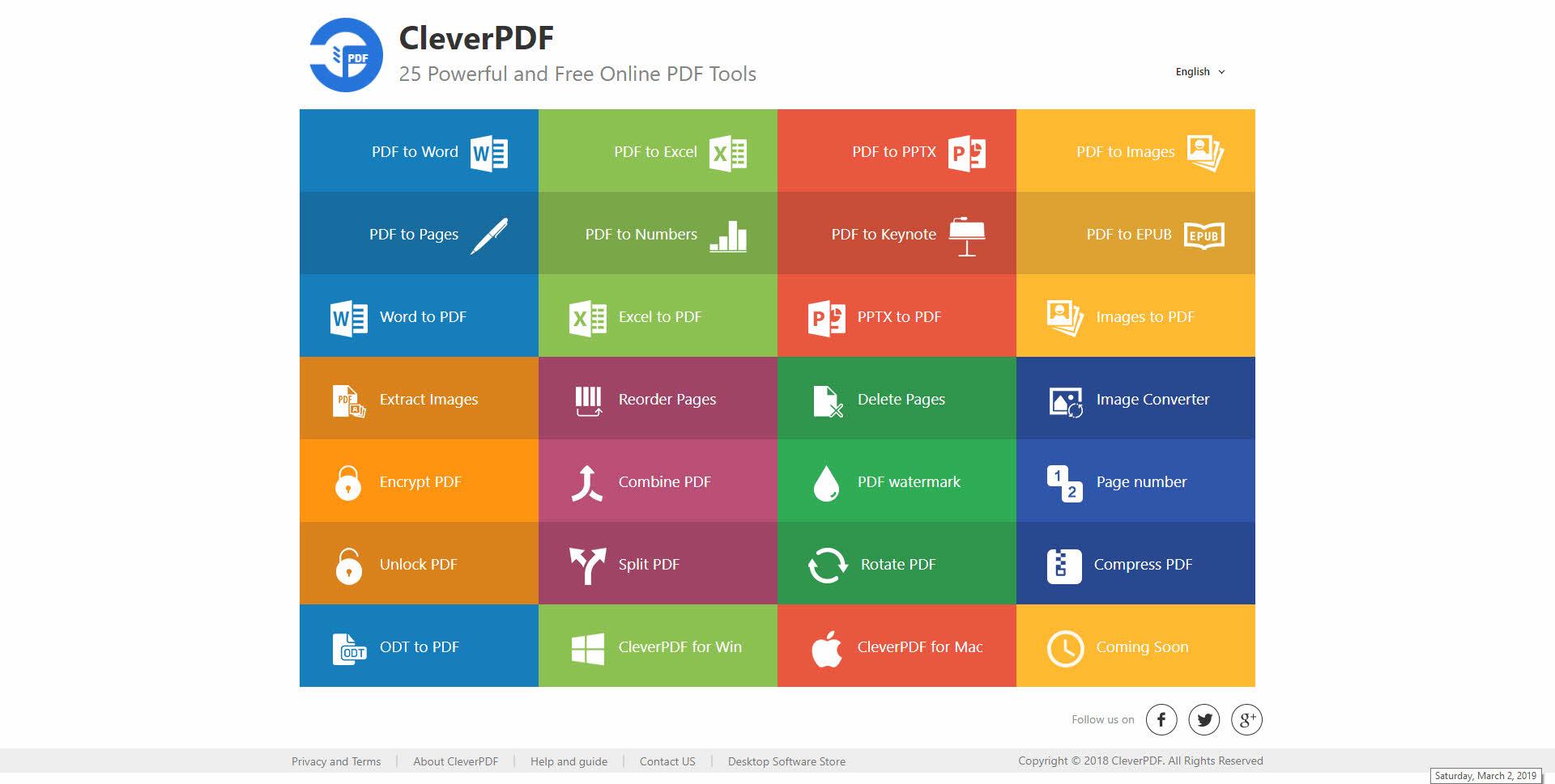 CleverPDF Crack Latest Version Free dwonload for PC 2021