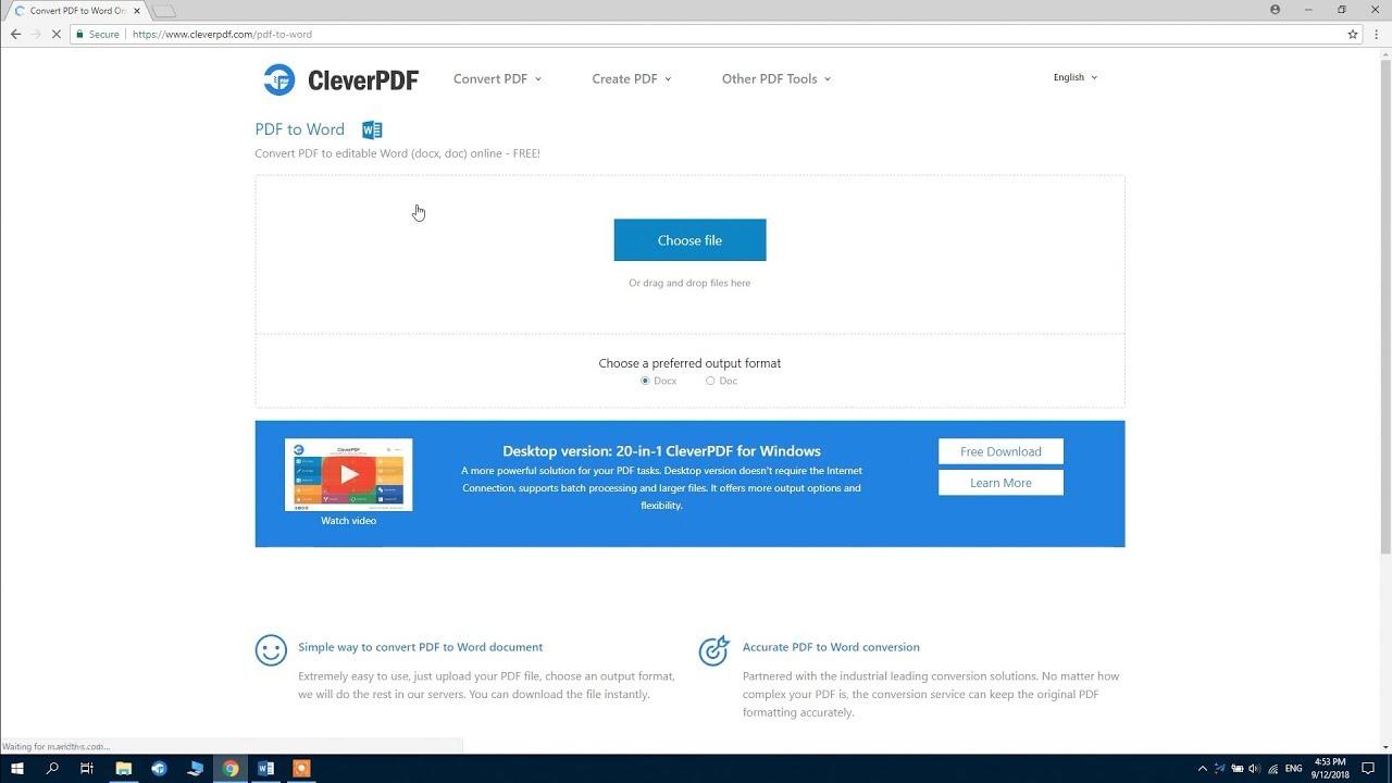 CleverPDF Crack Registration Key 2021