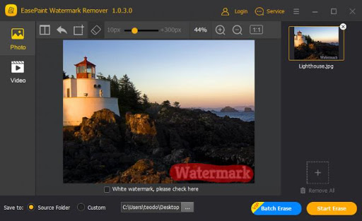EasePaint Watermark Remover Crack Free Download for PC 2021