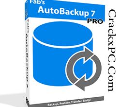 Fab's AutoBackup Pro Crack v7.1.1 Build 1136 + License Key [Latest]