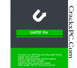 UniPDF Pro 1.3.5 Crack + License Key Lifetime Free Download [2021] CrackxPC