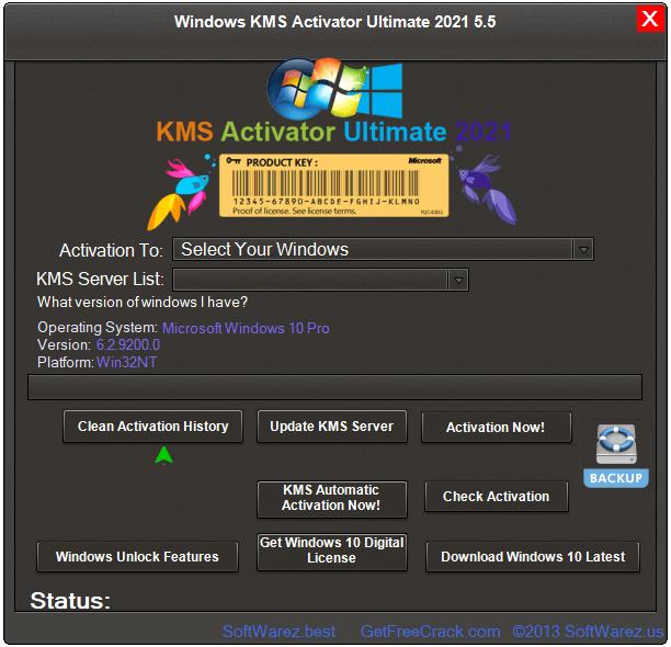 Windows KMS Activator Ultimate 2021 v5.5 Crack For Windows [Latest]