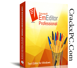 Emurasoft EmEditor Professional 20.9.1 With Crack Latest Free Download   CrackxPC