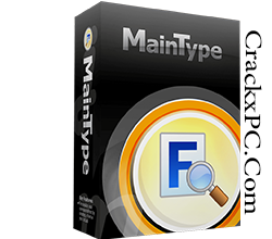 MainType Professional 11.0.0.1268 with Crack Free Download | CrackxPC