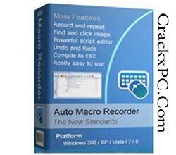 Auto Macro Recorder 5.9.0 Crack + License Key [2021] Free Download CrackxPC