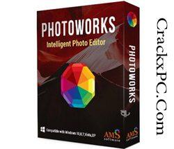 AMS Software PhotoWorks 10.0 Crack + Activation Key Free 2021 [Latest] Logo | CrackxPC