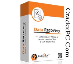 CubexSoft Data Recovery Wizard Crack v4.0 + Serial Key 2021 Full Latest Logo | CrackxPC