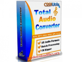 CoolUtils Total Audio Converte 6.1.0.253 With Crack Serial key [Latest] crackxpc