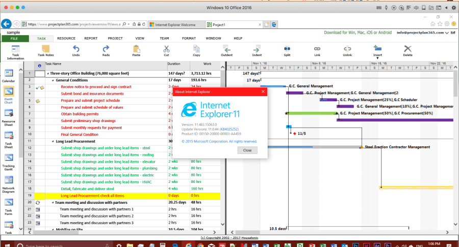 Project Viewer 365 Enterprise 21.28.1110 Crack + Key Free Download